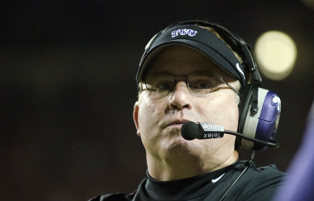 Gary Patterson's team has taken quite a few hits in the last week