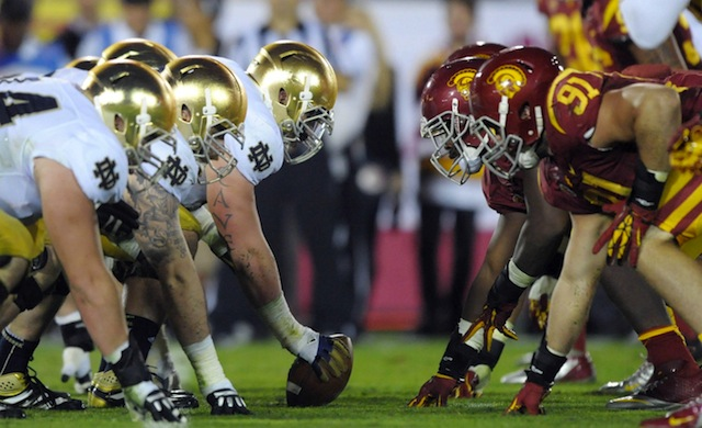 USC and Notre Dame extended their ancient rivalry.  (USATSI)
