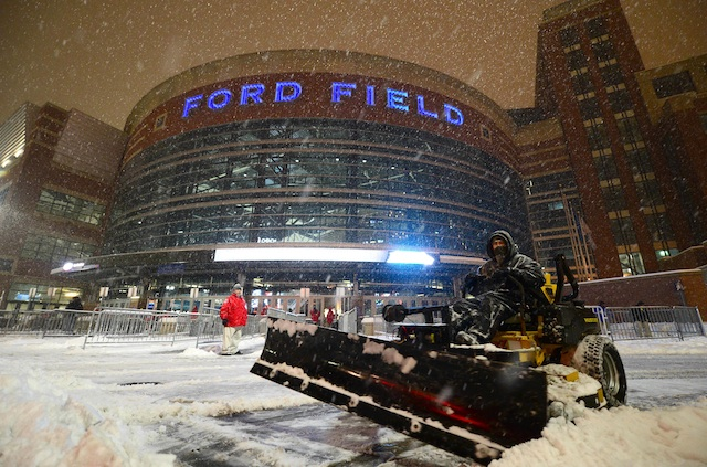 The new bowl game at Ford Field does not have a name as of yet