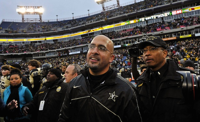 Vanderbilt and coach James Franklin did not wait long to dismiss four unnamed players.  (USATSI)