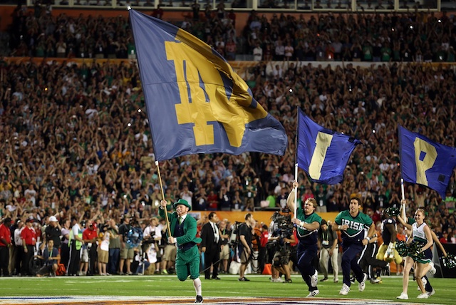 What are the chances Notre Dame returns  to the title game?