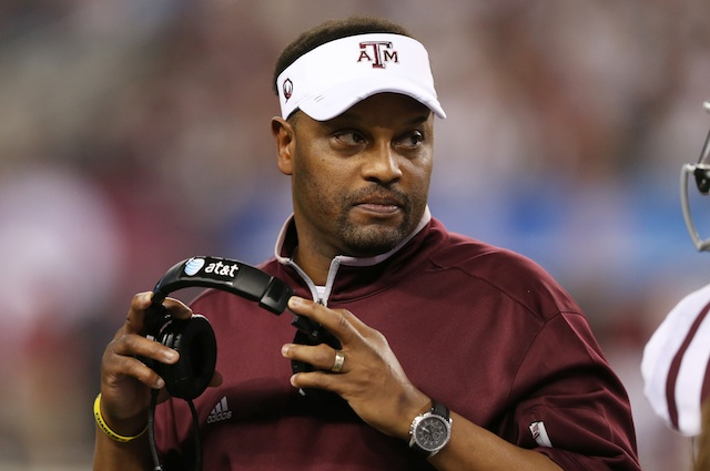 When it comes to NFL rumors, Kevin Sumlin is the new Chip Kelly