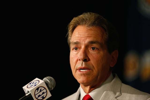 Texas Alabama Nick Saban $100 million