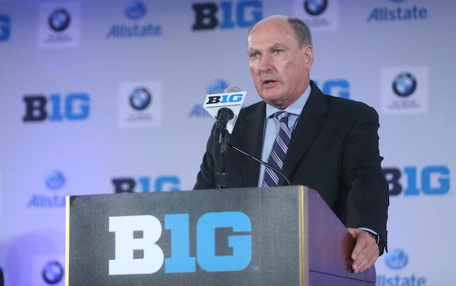 Jim Delany and the Big Ten expect revenues to continue climbing