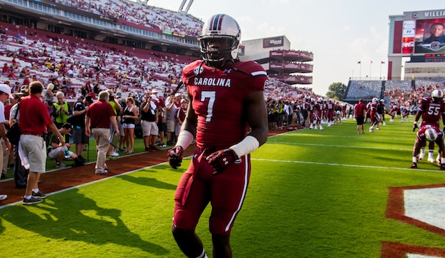 Jadeveon Clowney's final college game is expected to be in the Capital One Bowl vs. Wisconsin.