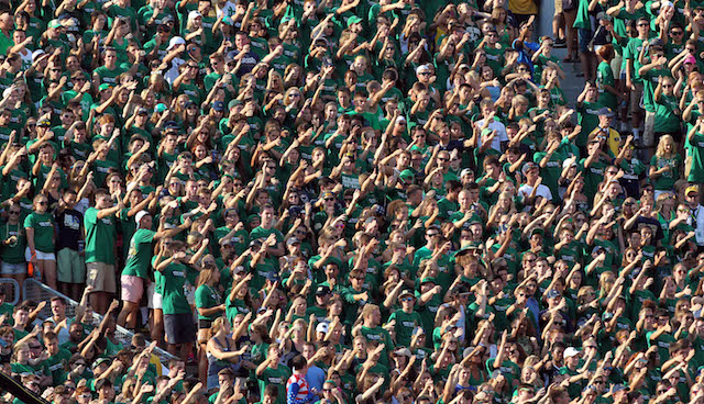 Notre Dame fans seem to be taking a wait-and-see approach to their 2014 class