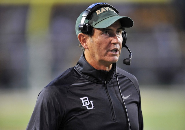 Art Briles will be a very popular man the next few months