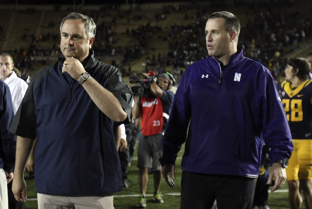 Sonny Dykes Pat Fitzgerald Cal Northwestern