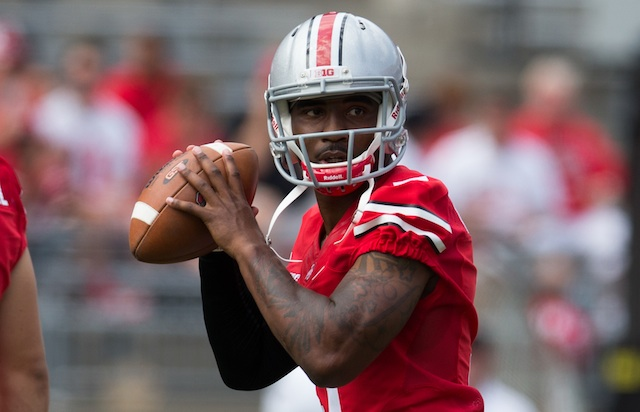 Braxton Miller's sprained MCL will keep him out of Saturday's game