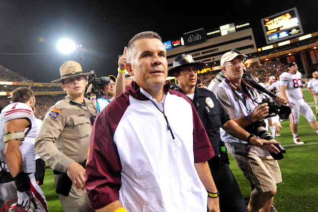 Todd Graham's new deal goes through the 2018 season