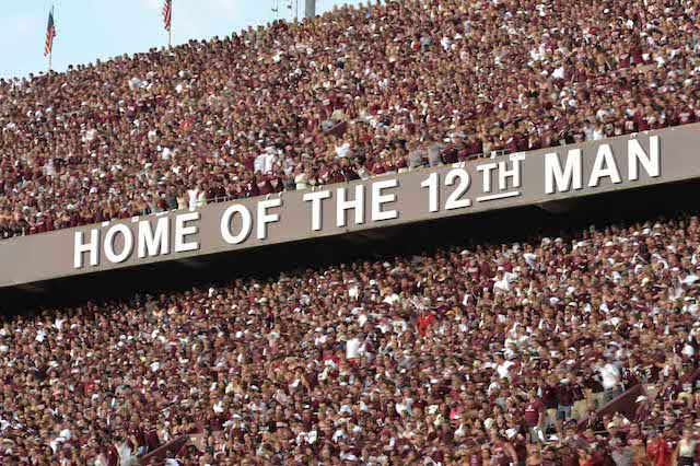 Kyle Field won't be the home of any games against Texas anytime soon