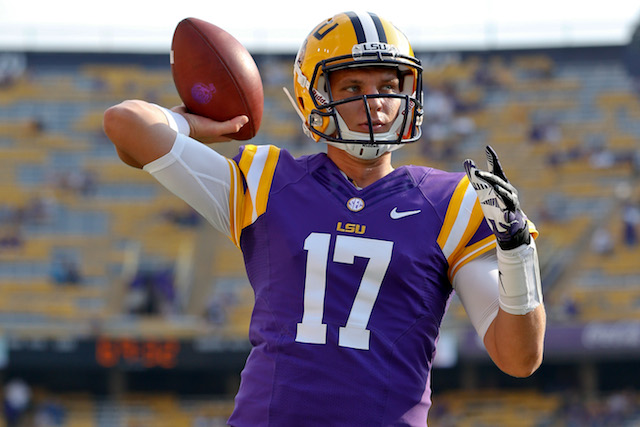 Lsu Qb Stephen Rivers To Transfer Cbssports Com