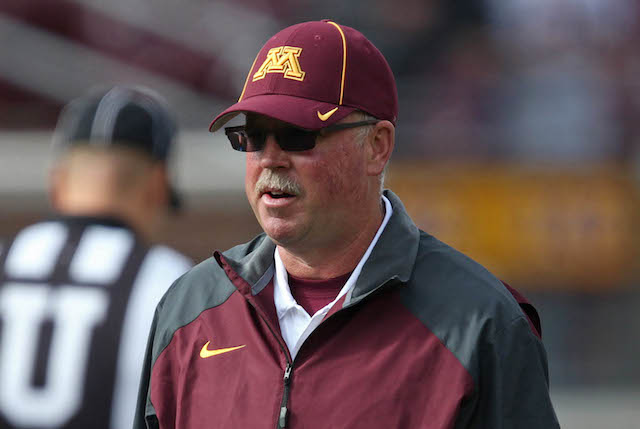 Jerry Kill's Minnesota teams have improved in each of his three seasons