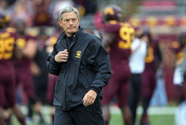 Kirk Ferentz is tired of being beaten by fake punts