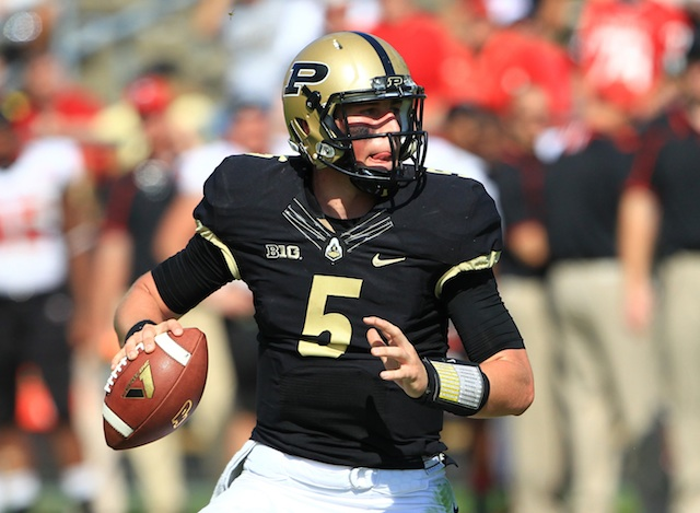 Danny Etling is Purdue's new starting quarterback