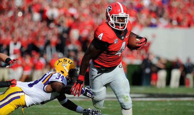 Georgia's Keith Marshall may redshirt the 2014 season