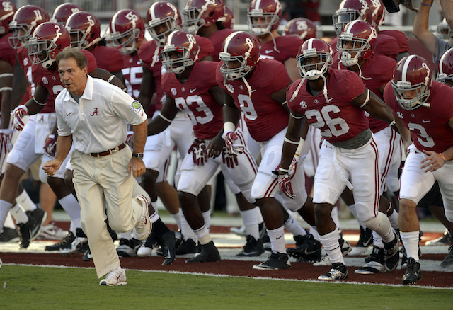 Nick Saban supports players rights
