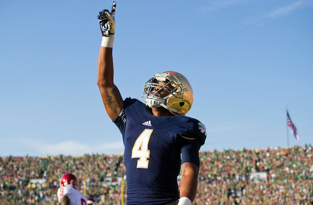 George Atkinson will not return to Notre Dame for his senior season
