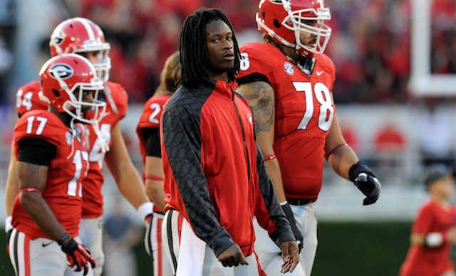 Todd Gurley could return to the field against Vanderbilt this week