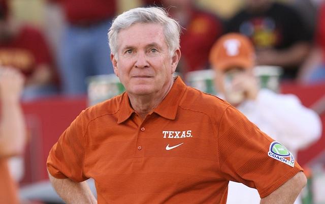 If Mack wants to return next season beating Oklahoma would be a good start