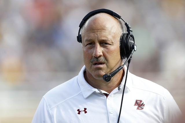 Steve Addazio took the Eagles back to a bowl game in his first season with BC. (USATSI)