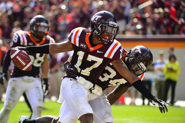 Senior cornerback Kyle Fuller will miss Virginia Tech's last home game with an injury. (USATSI)