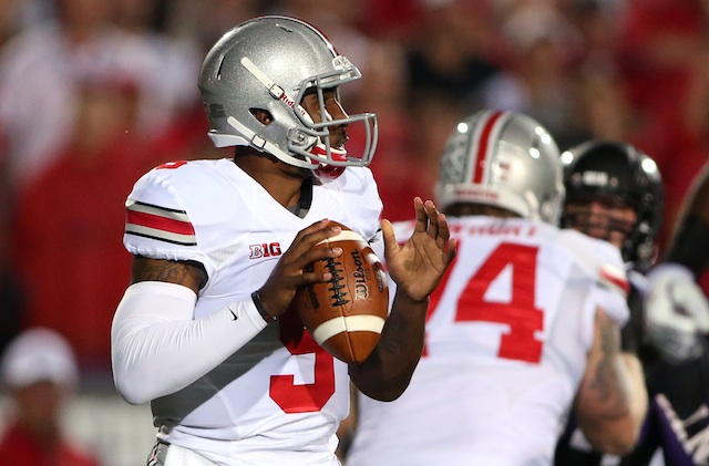 Braxton Miller and the Buckeyes escaped Evanston with a narrow 40-30 win