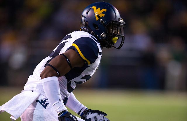 Ishmael Banks had two interceptions for the Mountaineers in 2013