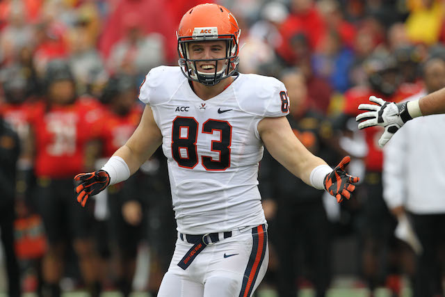 Virginia TE Jake McGee transfer