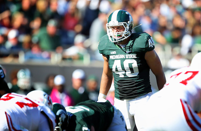 Max Bullough will not play for Michigan State in the Rose Bowl