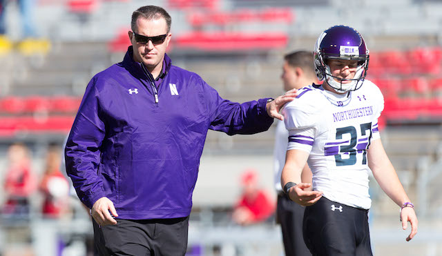 Pat Fitzgerald Northwestern union