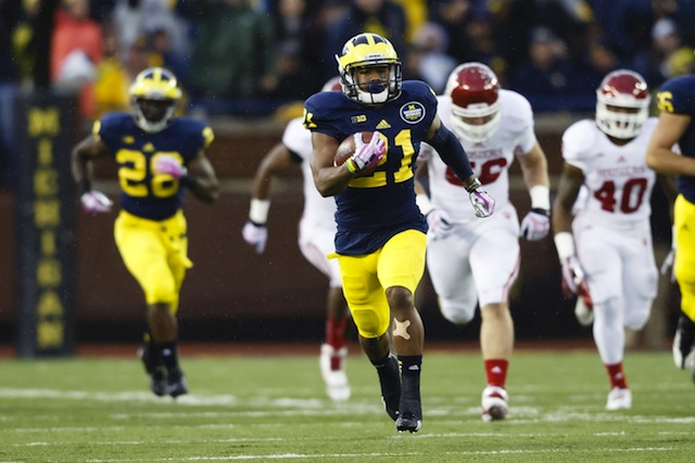 Jeremy Gallon set new school and Big Ten records on Saturday. (USATSI)