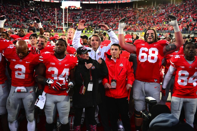 Ohio State has no remaining opponents ranked in the Top 20, and that's a good thing. (USATSI)