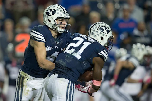 BYU has an agreement with the Poinsettia Bowl in 2016 and 2018