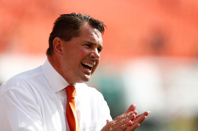 Al Golden, a Penn State alum, has gone 22-15 at Miami