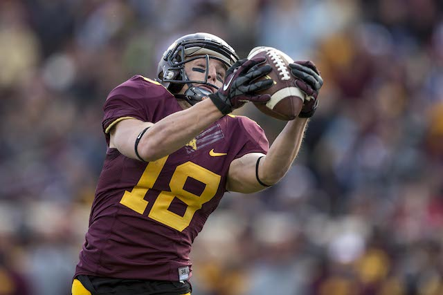 Derrick Engel is the only Minnesota wide receiver to catch a touchdown this season