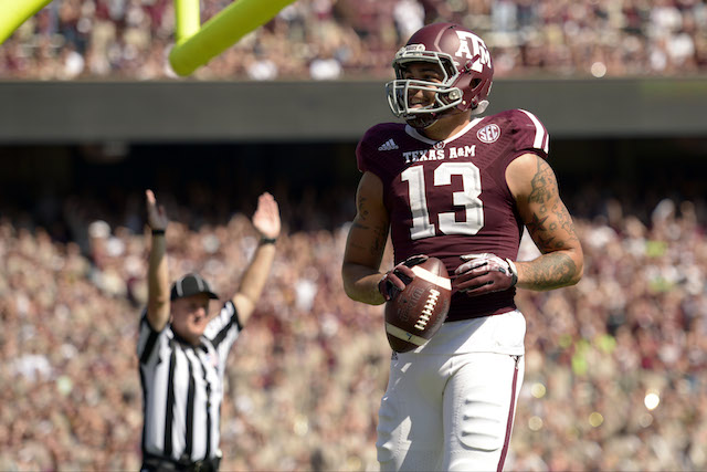 Mike Evans is one of 10 semifinalists for the Biletnikoff Award