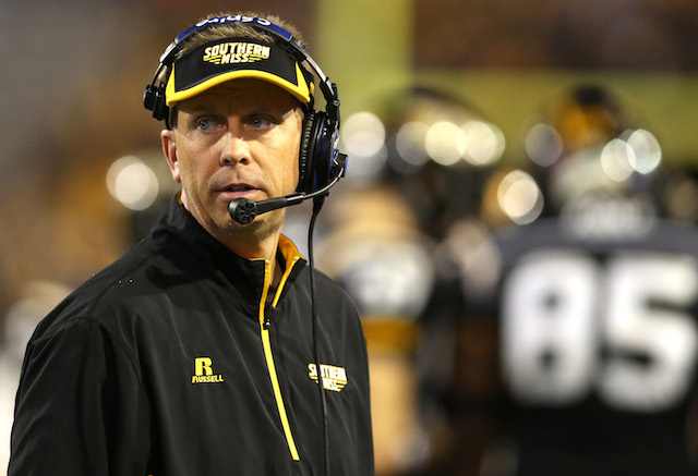 Todd Monken's Southern Mississippi team is on the rise