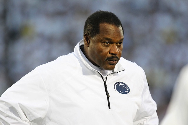 Larry Johnson was the last holdover from Joe Paterno's staff at Penn State.  (USATSI)