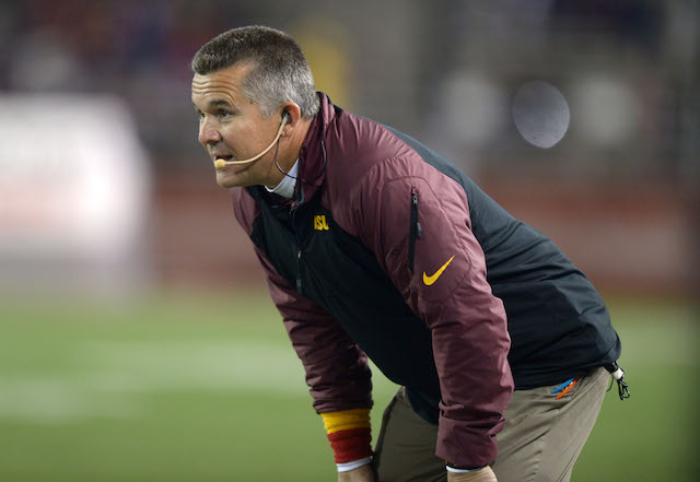 Todd Graham doesn't see a problem with players being paid to work camps.