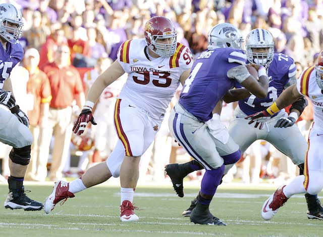 Brandon Jensen started all 13 games for Iowa State in 2013