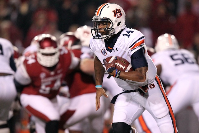 Nick Marshall's availability is a hot topic surrounding Auburn-Arkansas in Week 1. (USATSI)