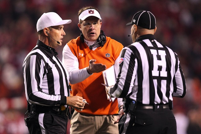 Auburn and Florida State will have Big Ten officials for the BCS title game.  (USATSI)