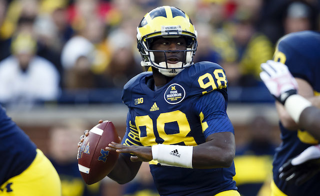 Devin Gardner will yield to Shane Morris in Michigan's bowl game