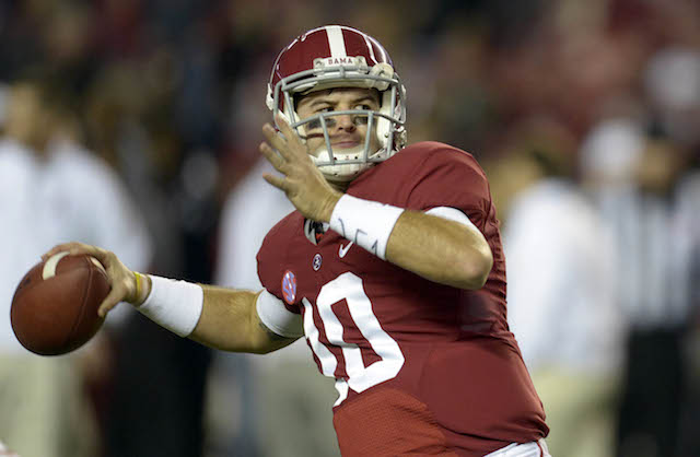 AJ McCarron has become a legit Heisman threat in the last few weeks
