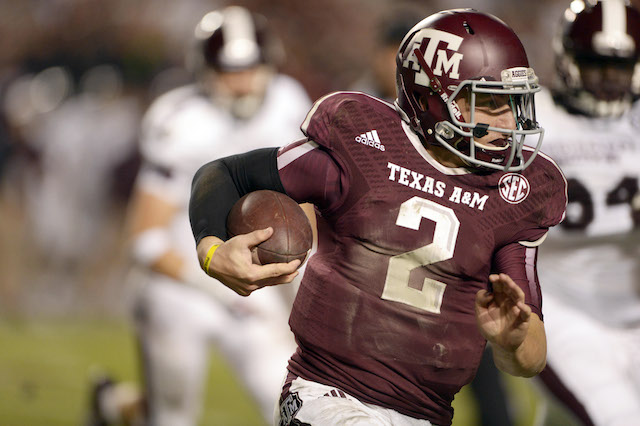 Johnny Manziel is one of 15 semi-finalists for the Walter Camp Award