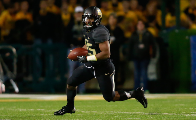 Lache Seastrunk rushed for 2,189 yards and 18 touchdowns in two seasons at Baylor