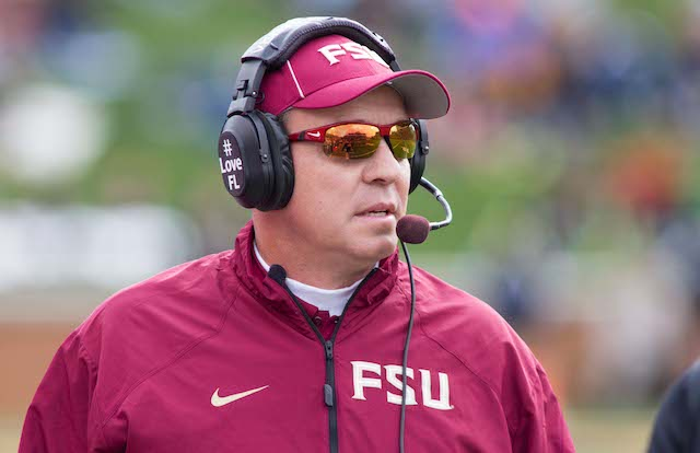 Florida State would like Jimbo Fisher to stick around for a while