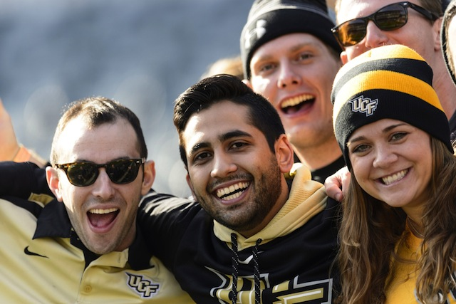 A Fiesta Bowl trip could cost UCF fans up to $700 for airfare alone.  (USATSI)