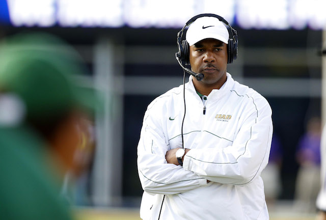 Garrick McGee is leaving UAB to reunite with Bobby Petrino at Louisville